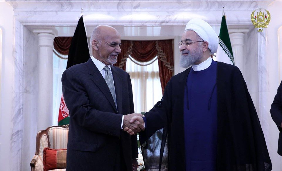 President Ghani praises Iran's support of peace process in